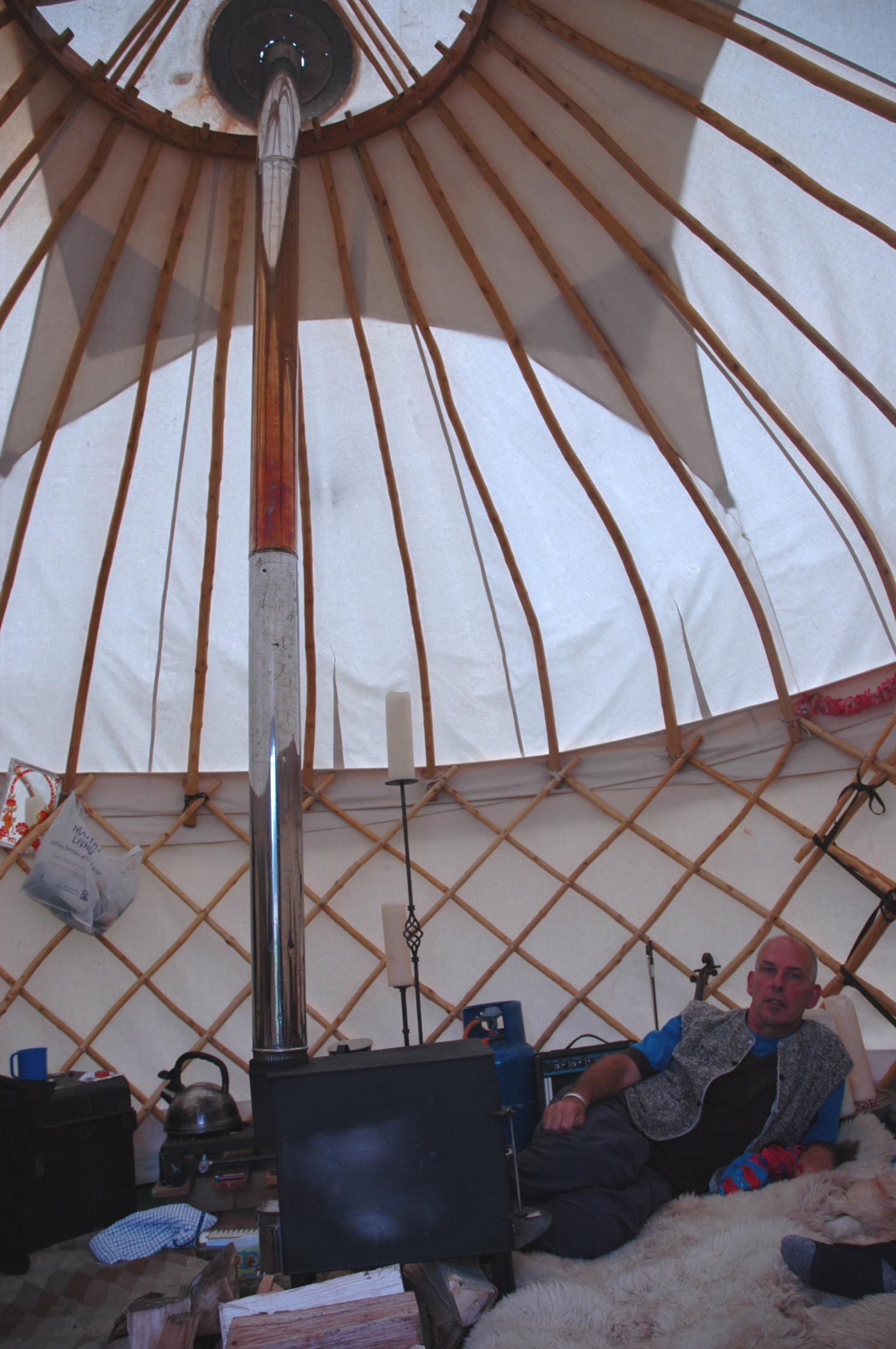 My Yurt Peter Deadman